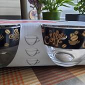 Набор из 6 чашек для кофе,чая
