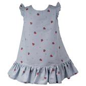 Милые хлопковые платья в лапки с небольшими фабричным дефектами