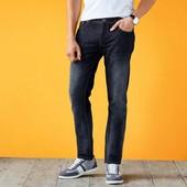 джинсы прямого кроя из хлопка и льна livergy германия, р. 52 (36/32)