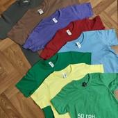 Детские и подростковые футболки 116-158