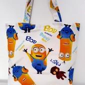 Миньоны! Яркая практичная сумка! Вместительная и удобная!