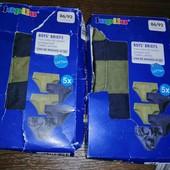 Комплект трусов на мальчика 5 шт. Lupilu 86-92 1 комплект в наличии.