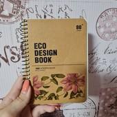 Эко-блокнотик А6 на 80 листов