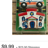 Очень дорогой набор пожарная станция фирма Melissa and Doug !!! Оригинал!!!