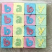 Пластиковые кубики для декора или самых маленьких !!!! Размер кубика 3см.* 3 см. !!!! 16 кубиков!!!!