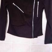 стильная куртка косуха под замшу , boohoo pp 6