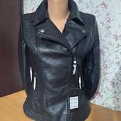 Цена закупки! Обалденные, качественные куртки косухи эко кожа, кожзам, рр. S-М Маломерят!