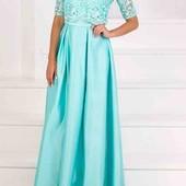 Платье вечернее нарядное длинное в пол бальное для настоящей королевы