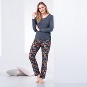 ☘ Затишні штани в цікавий візерунок від Tchibo (Німеччина), розміри наші: 50-52 (44/46 євро)