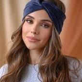 ❤️C&A Германия❤️стильный аксессуар модная банданка,повязка шикарный синий цвет