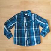Яркая фирменная рубашка на 6-7 лет в отличном состоянии