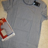 мужская стильная футболка от Livergy.