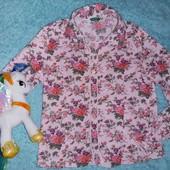 Шикарная винтажная блузка,на маленькую модницу 7-9 лет