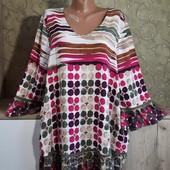 Собираем лоты!!! Реглан-блуза на пышную красу, размер xl-xxl,100%вискоза