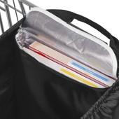 вместительная сумка для покупок на тележку от topmove. Объем 55л