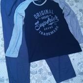 Мужская пижама для дома и сна Livergy размер XL 56 /58 )