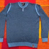 КФ 15 Отличный мужской свитерок, состояние новой вещи, Турция