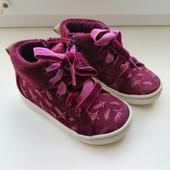 Хайтопы, ботинки осень Clarks стелька 13 см