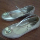 Туфли для девочки р.36, стелька 23 см.