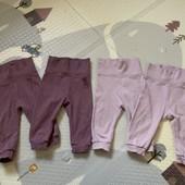 lupilu комплект хлопковых штанишек 62-68 р.