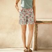 Стильные льняные шорты Esmara evro 36+6
