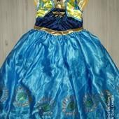 Платье Анна 4-6лет замеры на фото