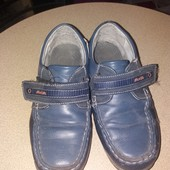 Без дефектов!Стильные Кожанные туфли,лоферы!р 36 ст 23 см!