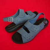 Босоножки сандалии Clarks натур кожа 39-40 размер