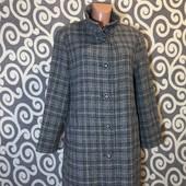 Модное, шерстяное пальто Walbusch для пышненьких девушек . В идеальнейшем состоянии .