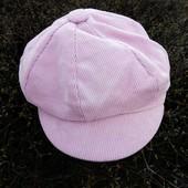 ❤️☀❤️Стильная кепка нежно розового-пудрового цвета, хлопок. На любой размер.