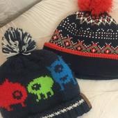 Лот тёплых шапочек