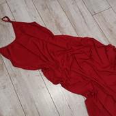 Пляжное платье красное вино от Selfiego, M