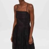 Кружевное шикарнре платье H&M