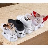 Очень классная удобная двойная стойка для обуви!!! 4 уровня наклона!!По ставке можно докупить!!