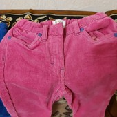 Вельветовые брюки на девочку 4-5,5 лет