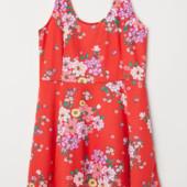 Платье H&M + из джерси 54/56р.