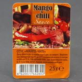 Порционный соус манго-чили 10 упаковок по 25 грамм!!!