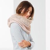 ☘Теплий хутряний шарф для стильного образу від Tchibo (Німеччина), розмір універсальний