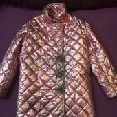 Стильне фабричне пальто Стан нового, незначний нюанс!