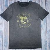 Хлопковая футболка с эфектом состаренной C&A, р.S
