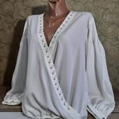 Собираем лоты!!! Блуза запах, размер 42