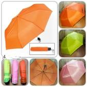 Красивый,яркий,зонт механика,красиво дополнит любой повседневный образ в ненастную погоду.