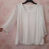 Красивая белая блуза ! УП скидка 10%