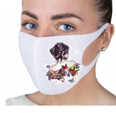 Многоразовые маски с принтом!Читаем описание