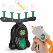 """Детская игра Воздушный тир пистолет с дротиками и летающая мишень, шарики Hover Shot, """"Стрелялки"""""""