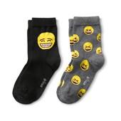 ☘Лот 2 пари☘ Набір якісних веселих шкарпеток з малюнком від Tchibo (Німеччина), розмір: 27-30