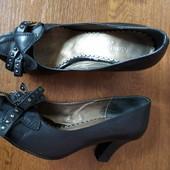 Кожа! Фирменные туфли