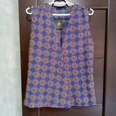 Фирменная новая красивая летняя блуза р.18-22