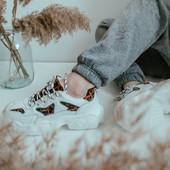Стильные кроссовки с животным принтом Still Leo 36.37.39.40