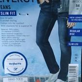 """Стильные модные мужские джинсы """"slim fit"""" Livergy Германия размер 56 (40/32)"""